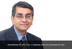 V C Gopalratnam, CIO, Cisco